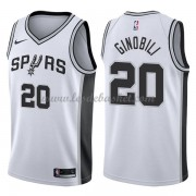 Maillot NBA San Antonio Spurs 2018 Manu Ginobili 20# Association Edition..